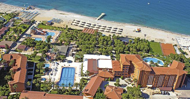 Club Turtas Beach Hotel Alanya Blue Style