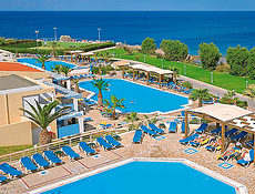 Pohled na resort