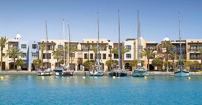Hotel Sunrise Marina Resort Port Ghalib