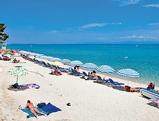 Main - pláž v Chanioti