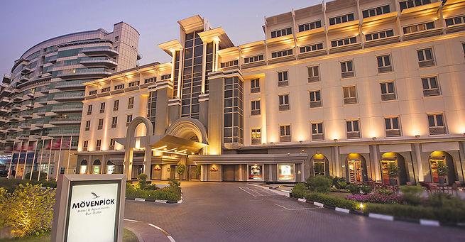 Hotel Mövenpick Hotel & Apartments Bur Dubai