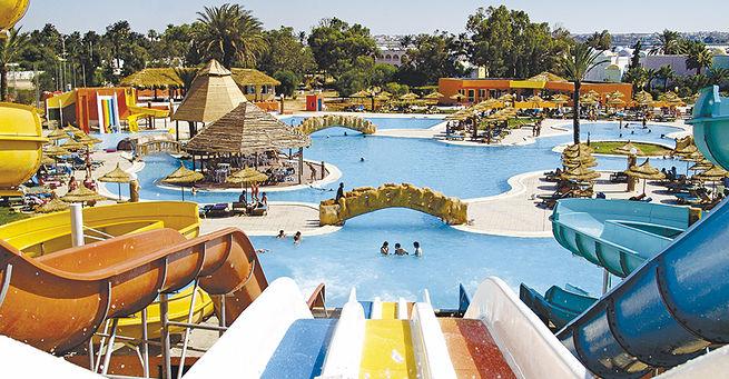 Magic Hotel Caribbean World Garden Monastir